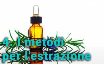 I metodi per l'estrazione degli oli essenziali