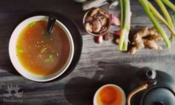 Zuppa di Miso e Shitake